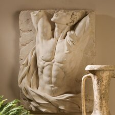<strong>Design Toscano</strong> The Torso of Adonis Bas Relief Wall Décor