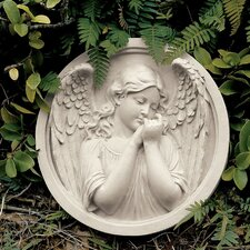 Thoughts of an Angel Sculptural Wall Roundel