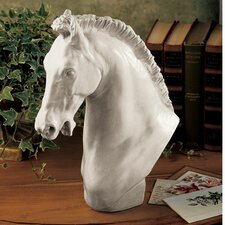 <strong>Design Toscano</strong> Horse of Turino Bust (Set of 2)