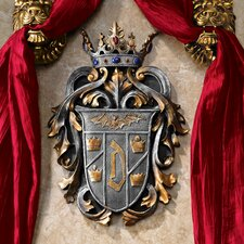 <strong>Design Toscano</strong> Count Dracula's Coat of Arms Wall Décor