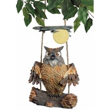 <strong>Design Toscano</strong> Howie The Hoot Owl Swinging Statue