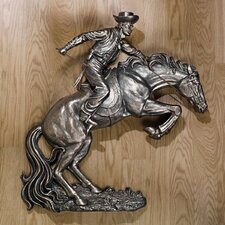 Broncho Buster Wall Sculpture