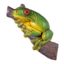<strong>Design Toscano</strong> Red - Eyed Tree Frog Statue