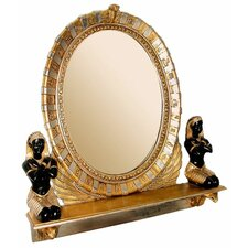 Egyptian  Statue Vanity Mirror