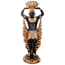 <strong>Design Toscano</strong> Cleopatra's Egyptian Nubian Guard Scale Statue