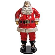 Jolly Santa Claus Grande Statue