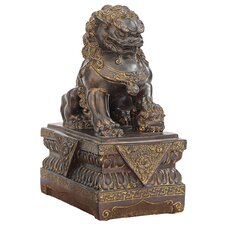 Chinese Foo Dog Guardian Female Lion Statue