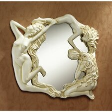 Dance of the Nymphs Sculptural Wall Mirror