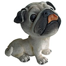 <strong>Design Toscano</strong> Prized Pup Pug Puppy Dog Statue