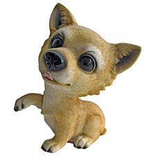 <strong>Design Toscano</strong> Prized Pup Chihuahua Puppy Dog Statue