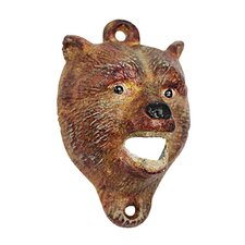 Brown Bear of the Forest Bottle Opener