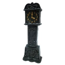 Time is Money Still Coin Bank Grandfather Clock Statue
