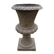 Tuscan Sculptural Tall Medium Urn
