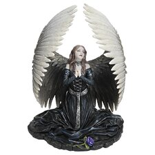 Angel Prayer for The Fallen Statue
