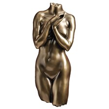 <strong>Design Toscano</strong> Anatomical Decipher Nude Torso Female Wall Décor