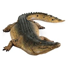 <strong>Design Toscano</strong> Tropical Wetlands Crocodile Statue
