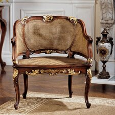 <strong>Design Toscano</strong> Louis XV French Rattan Chair