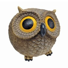 <strong>Design Toscano</strong> Puffy, the Roly Poly Garden Owl Statue