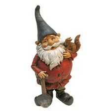 Digger and the Garden Gnome Statue