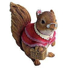 <strong>Design Toscano</strong> Grandmother Squirrel Statue