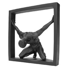 <strong>Design Toscano</strong> Boxed In Modern Male Nude Bowing Statue