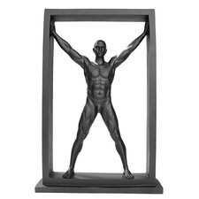 <strong>Design Toscano</strong> Boxed In Modern Male Nude Standing Statue