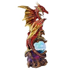 <strong>Design Toscano</strong> Dragon Defender of Life Source Orb Figurine