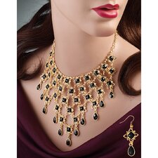 Marie Celeste Necklace and Drop Earring Ensemble
