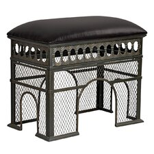 Arch de Triomphe Sculptural Metal Bench