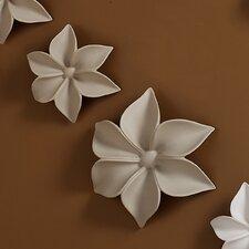 2 Piece Autumn's Trail Flowers Wall Décor Set