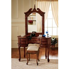 Queen Anne Vanity with Mirror