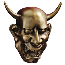 Hannya Demon Noh Wall Mask