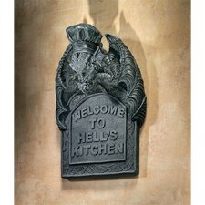 Hell's Kitchen Sculptural Wall Plaque (Set of 2)
