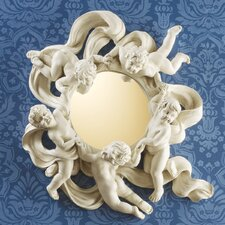 Cherub's Playful Dance Petite Wall Mirror