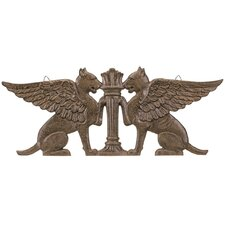 Griffin Ornamental Architectural Pediment Figurine