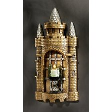 <strong>Design Toscano</strong> Castle Tower Gothic Resin Votive