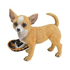 <strong>Design Toscano</strong> Fernando the Chihuahua Statue (Set of 2)