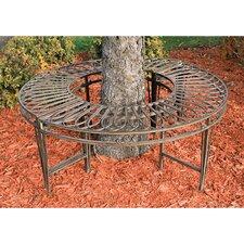 Gothic Roundabout Steel Garden Bench