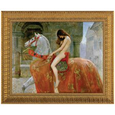 Lady Godiva by John Collier Framed Painting Print