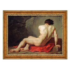 Patrocles, 1780 by Jacques-Louis David Framed Painting Print