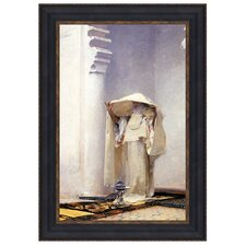 Smoke of Ambergris, 1880 by John Singer Sargent Framed Painting Print