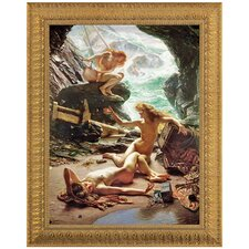 <strong>Design Toscano</strong> The Cave of the Storm Nymphs Replica Painting Canvas Art