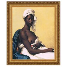 Portrait d une Negresse, 1800 by Marie-Guillemine Benoist Framed Painting Print