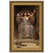 Circe Offering the Cup to Ulysses, 1891 by John William Waterhouse Framed Painting Print