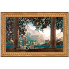 Daybreak, 1922 by Maxfield Parrish Framed Painting Print