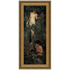 A Hamadryad, 1893 by John William Waterhouse Framed Painting Print