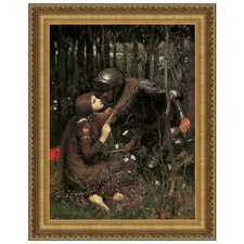 La Belle Dame Sans Merci, 1893 by John William Waterhouse Framed Painting Print