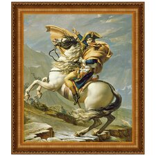 <strong>Design Toscano</strong> Napoleon Crosses the Alps, 1805 Replica Painting Canvas Art