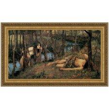 A Naiad, 1905 by John William Waterhouse Framed Painting Print