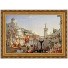 The Consummation of Empire, 1836 by Thomas Cole Framed Painting Print